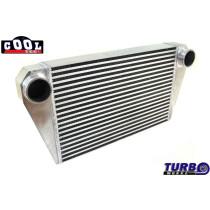 Intercooler TurboWorks 550x350x76 hátsó kivezetéssel